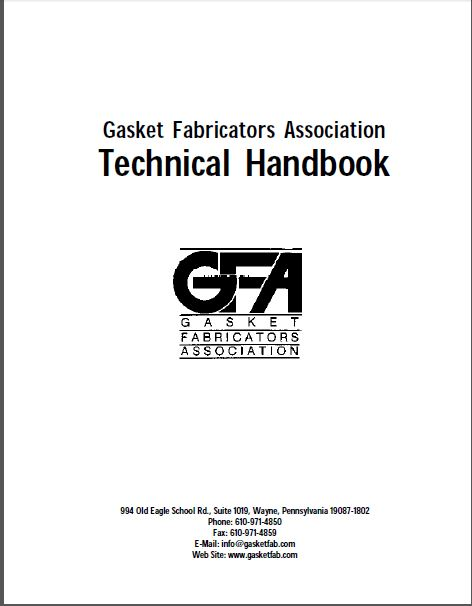 Gasket Fabricators Association Technical Handbook